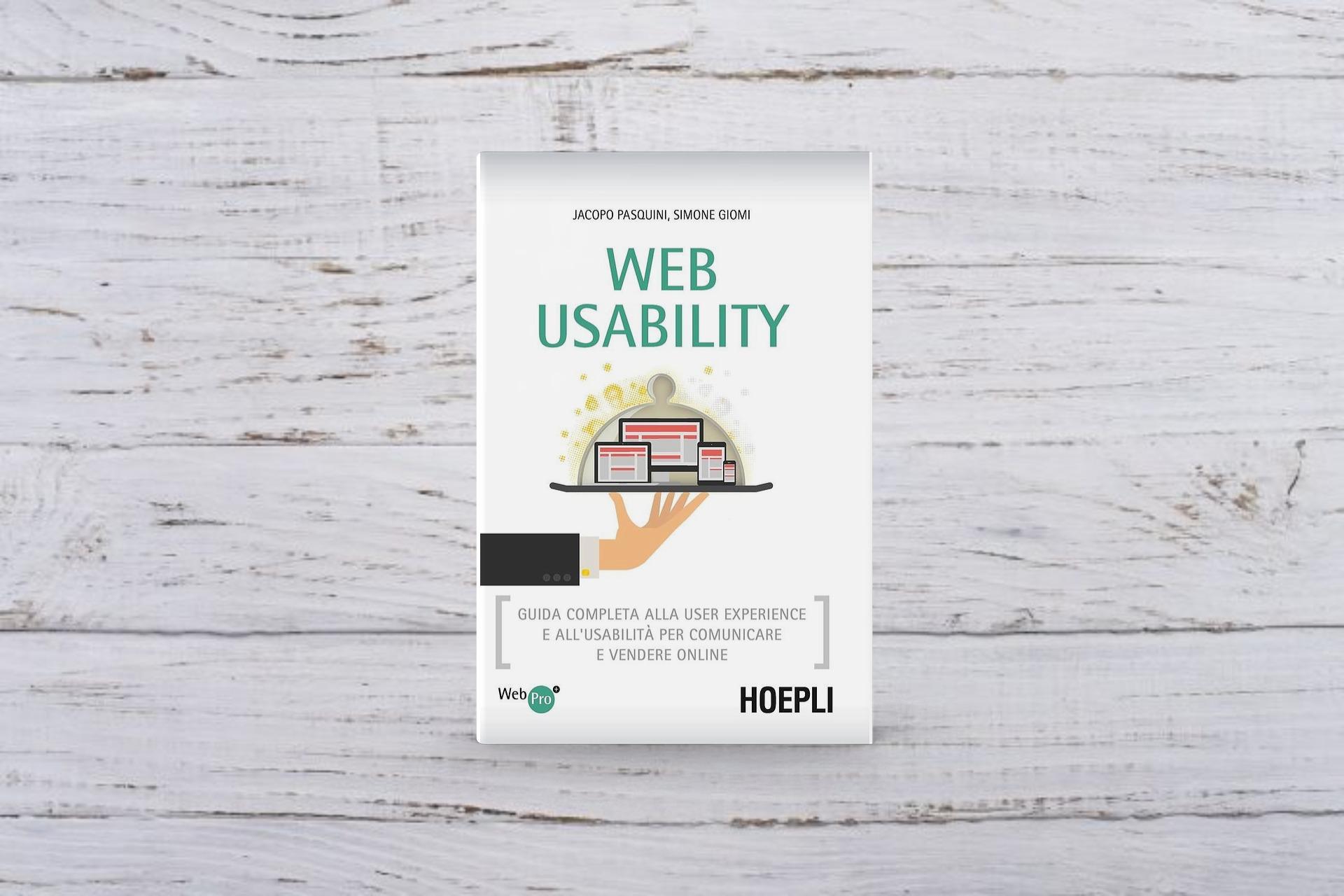 Libro Web Usability Hoepli 2014